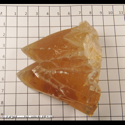 Minerals Specimen: Calcite from Pugh Quarry, Custar, Wood Co,  Ohio (some light wear)