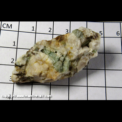 Mineral Specimen: Emerald, Albite from Little Tungsten mine, Rye Patch District, Pershing Co,  Nevada