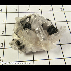 Mineral Specimen: Tetrahedrite, Quartz from Sweet Home Mine, Alma, Park Co,  Colorado