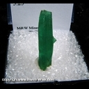 Mineral Specimen: Chatham Emerald (lab grown) from 5.75 g