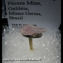 Mineral Specimen: Rose Quartz Scepter from Pitorra Mine, Galileia, Minas Gerais, Brazil