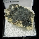 Minerals Specimen: Cassiterite from Taylor Creek Tin Dist., Sierra Co., New Mexico
