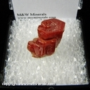 Minerals Specimen: Vanadinite from Pure Potential Mine, Silver District, Trigo Mts., La Paz Co., Arizona