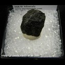 Minerals Specimen: Canyon Diablo Meteorite - 1.5 g from North side of Meteor Crater, near Winslow, Coconino Co., Arizona Collected 1928