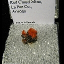 Mineral Specimen: Wulfenite from Red Cloud Mine, La Paz Co., Arizona
