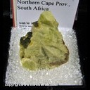 Minerals Specimen: Titanite from Concordia, Northern Cape Prov., South Africa