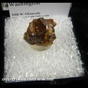Minerals Specimen: Grossular Garnet from Vesper Peak, Sultan Basin, Sultan District, Snohomish Co., Washington
