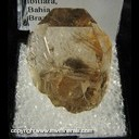 Mineral Specimen: Rutilated Quartz from Itibara, Bahia, Brazil