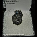 Mineral Specimen: Bornite from Beckenridge, Summit Co., Colorado