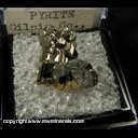 Minerals Specimen: Pyrite from Gilpin Co., Colorado  Ex. Neely circa 1960