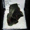 Mineral Specimen: Magnetite Crystals from Iron Co., Utah Ex. Steve Pullman