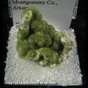 Mineral Specimen: Wavellite from Mauldin Mt., Montgomery Co., Arkansas