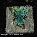 Mineral Specimen: Rosasite from Chihuahua, Mexico Ex. A. Neely 1960s
