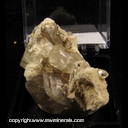 Mineral Specimen: Topaz, Smoky Quartz, Orthoclase from Erongo Mountain, Namibia