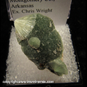 Minerals Specimen: Wavellite from Montgomery Co., Arkansas Ex. Chris Wright