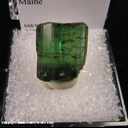 Mineral Specimen: Tourmaline (gemmy, not terminated) from Oxford Co., Maine Prior to 1972