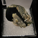 Mineral Specimen: Epidote and Quartz from Pakistan