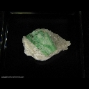 Mineral Specimen: Emerald, Quartz from Wenshan, China