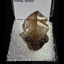 Mineral Specimen: Rutilated Quartz from Bahia, Brazil