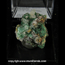 Mineral Specimen: Malachite, Quartz, Hematite from Zacatecas, Mexico, Ex. A. Neely, 1960s
