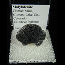 Mineral Specimen: Molybdenite from Climax Mine, Climax, Lake Co., Colorado, Ex. Steve Pullman