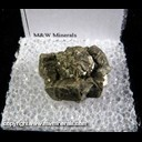 Mineral Specimen: Pyrite from Clark Co., Missouri, Ex. Norm Woods
