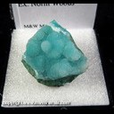 Mineral Specimen: Druze Quartz on Chrysocolla from Arizona, Ex. Norm Woods