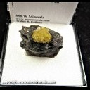 Mineral Specimen: Sphalerite from Lockport, Niagara Co., New York, Ex. Norm Woods