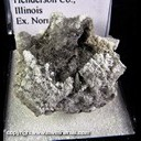 Mineral Specimen: Millerite from Biggsville, Henderson Co., Illinois, Ex. Norm Woods