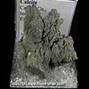Mineral Specimen: Calcite from Carroll Co., Indiana, Ex. Norm Woods