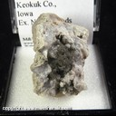 Mineral Specimen: Millerite from Ollie, Keokuk Co., Iowa, Ex. Norm Woods