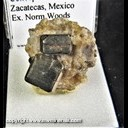 Mineral Specimen: Pyrite from Concepcion del Oro, Zacatecas, Mexico, Ex. Norm Woods