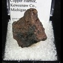 Mineral Specimen: Macfallite from Lake Manganese, Copper Harbor, Keweenaw Co., Michigan
