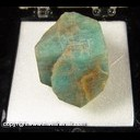 Mineral Specimen: Amazonite from Pikes Peak, Colorado, Ex. Norm Woods