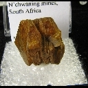 Minerals Specimen: Sturmanite from N'Chwaning Mines, South Africa