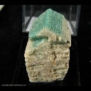 Mineral Specimen: Amazonite from Smoky Hawk Mine, Florissant, Teller Co., Colorado