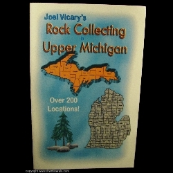 Mineral Specimen: Rock Collecting Locations in Upper Michigan from by Joel Vicary