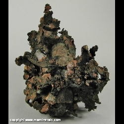 Mineral Specimen: Copper from Houghton County, Michigan, USA