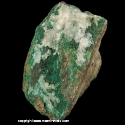 Mineral Specimen: Dioptase from Arizona