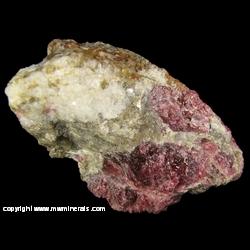 Minerals Specimen: Eudialyte, Aggrelite, Nepheline, Ferri-katophorite (Magnesiokatophorite) from Kipawa, Les Lacs-du-Temiscamingue, Temiscamingue RCM, Quebec, Canada
