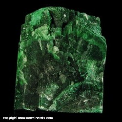 Minerals Specimen: Malachite Pseudomorph after Azurite from Tsumeb, Namibia