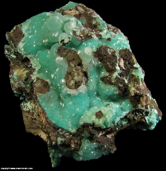 Mineral Specimen: Smithsonite from Kelly Mine, Magdalena, Socorro Co., New Mexico