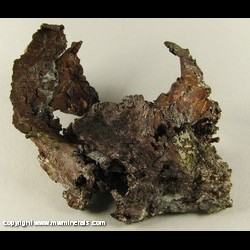 Minerals Specimen: Copper Skull from C&H Conglomerate, Houghton Co., Michigan