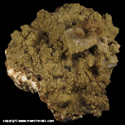 Mineral Specimen: Siderite on Calcite and Quartz from Cirotan mine, Cikotok Gold Dist., Banten Prov., Java, Indonesia
