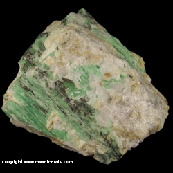 Mineral Specimen: Emerald from Malipo Co., Wenshan Autonomous Prefecture, Yunnan Province, China