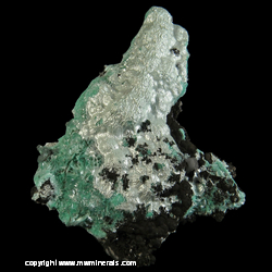 Minerals Specimen: Aurichalcite from 79 Mine, Hayden, Gila Co,  Arizona