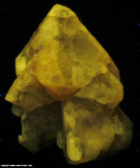 Fluorescent Mineral Specimen: Cerussite from Mibladen, Morocco