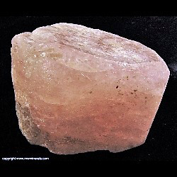 Mineral Specimen: Morganite from Alto Ligonha pegmatites, Alto Ligonha District, Zambezia Province, Mozambique