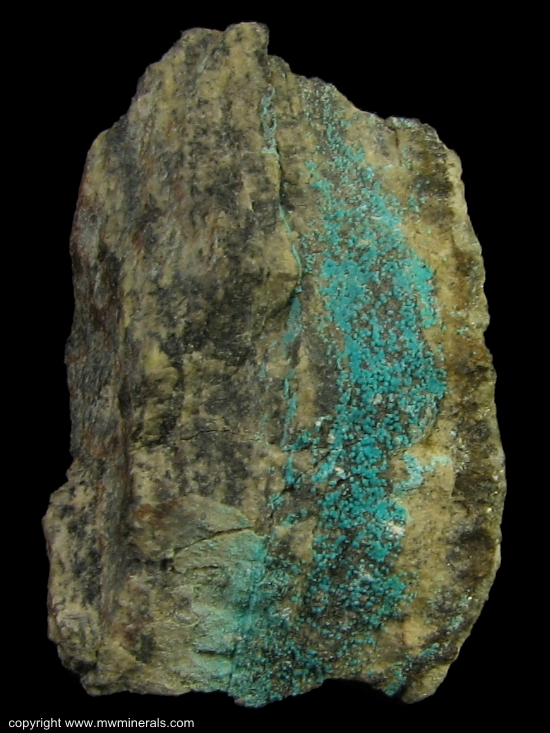 Mineral Specimen: Mcguinnessite from Basic Refractories mine, Gabbs District, Nye Co., Nevada, USA